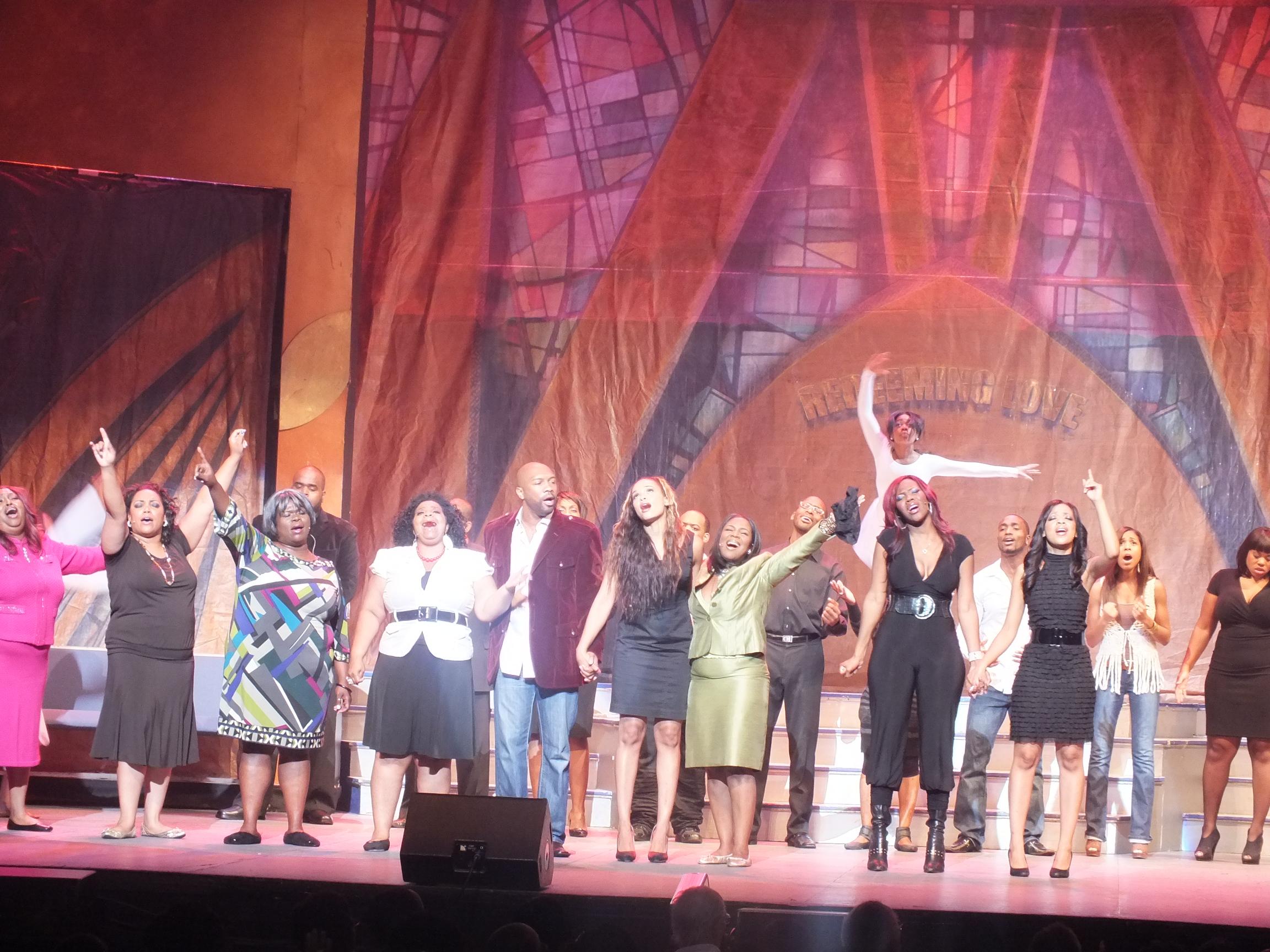Church girl play cast